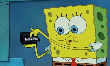 The SpongeBob Movie Sponge Out of Water SpongeBob Piano