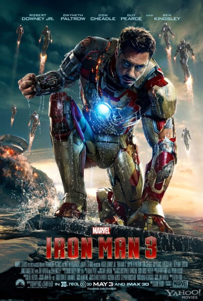 Iron Man 3 Tony Stark Poster