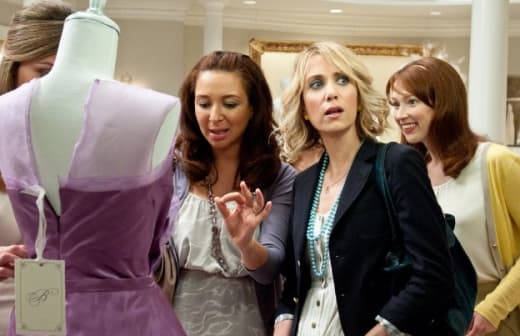Looking at Bridesmaids Dresses