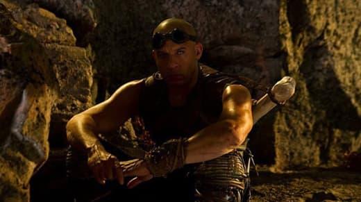 Vin Diesel is Riddick in Riddick