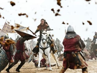 Robin Hood Charges into Battle