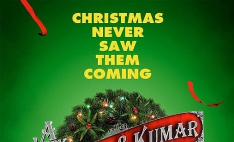 A Very Harold and Kumar Christmas Poster