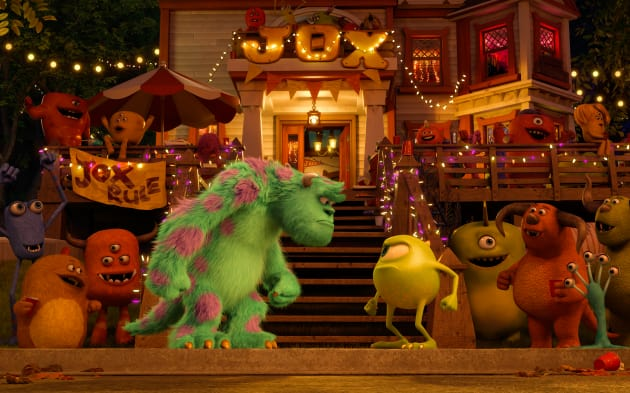 Sulley and Mike Monsters University