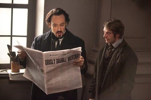 John Cusack Stars as Edgar Allen Poe in The Raven