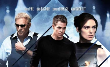 Jack Ryan Shadow Recruit UK Poster