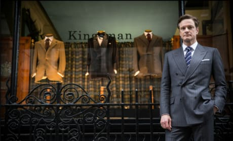Colin Firth Kingsman The Secret Service Photo Still