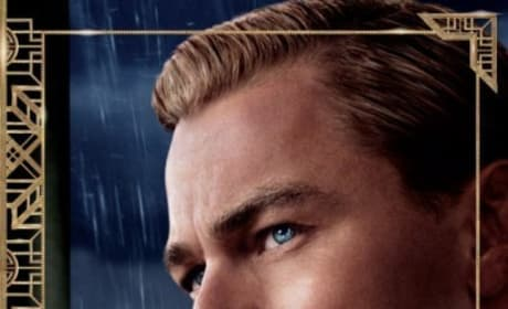The Great Gatsby Leonardo DiCaprio Poster