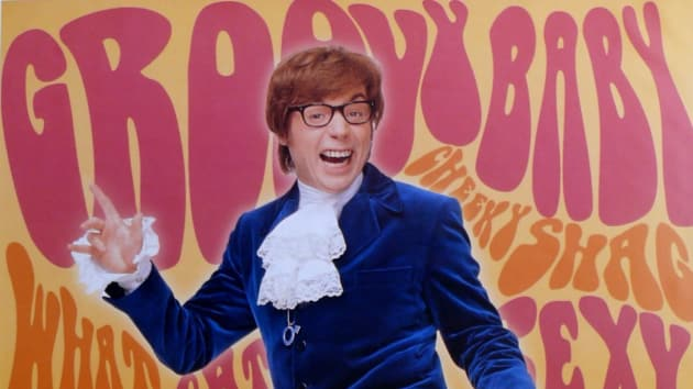 Mike Myers Stars As Austin Powers