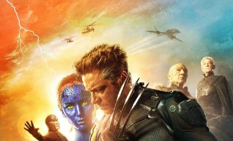X-Men Days of Future Past Mystique Wolverine Poster