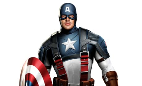 Captain America Costume Art