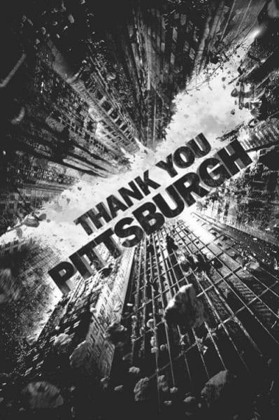Dark Knight Thanks Pittsburgh