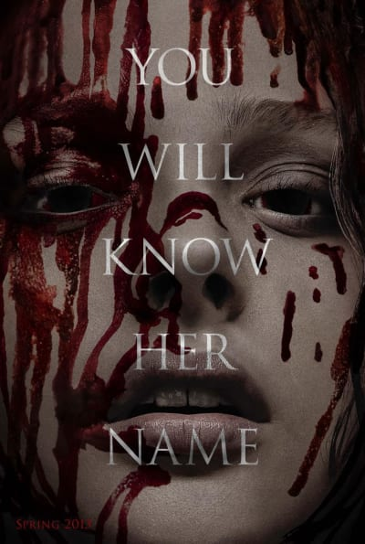 Carrie International Poster