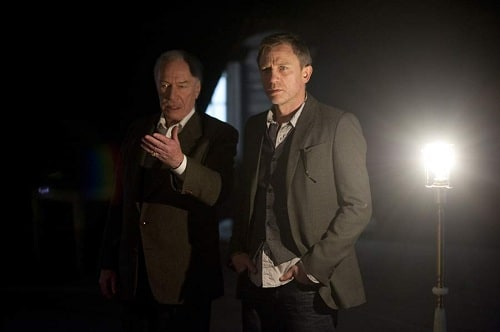 Daniel Craig and Christopher Plummer in The Girl with the Dragon Tattoo