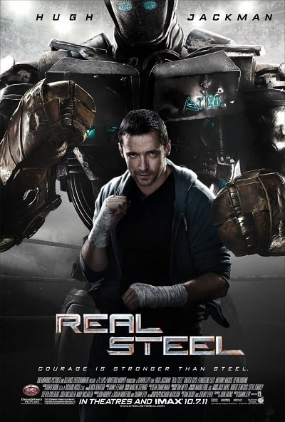 Hugh Jackman in Real Steel Poster