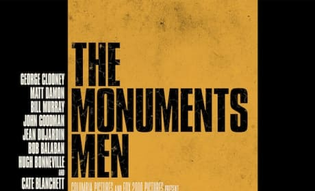 The Monuments Poster: George Clooney Saves History