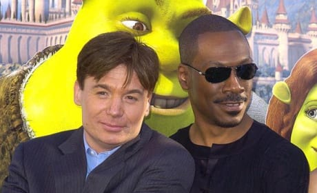 Eddie Murphy and Mike Myers