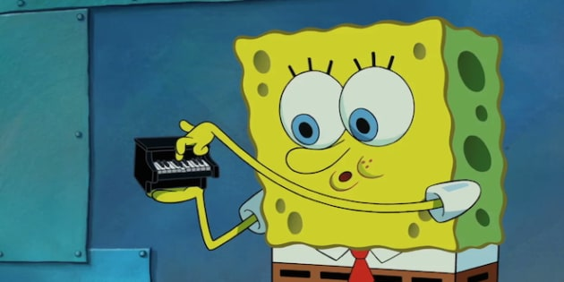 The spongebob movie sponge out of water spongebob piano
