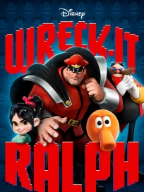 Wreck-It Ralph M. Bison Poster