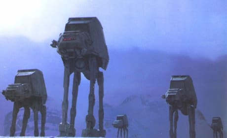 Empire Strikes Back AT-ATs