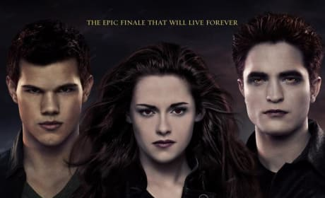 Breaking Dawn Part 2 International Poster Drops: It Will Live Forever