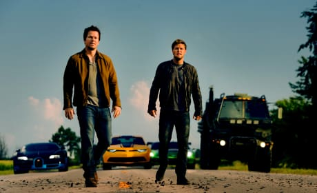 Mark Wahlberg Jack Reynor Transformers: Age of Extinction