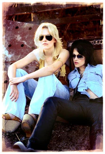 Dakota and Kristen Go Retro