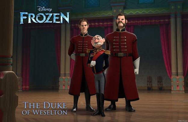 Frozen The Duke of Weselton