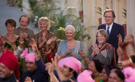 The Second Best Exotic Marigold Hotel Maggie Smith Judi Dench Bill Nighy