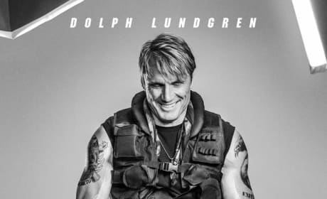 The Expendables 3 Dolph Lungren Poster