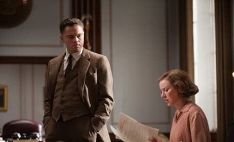 Leonardo DiCaprio in J. Edgar Trailer