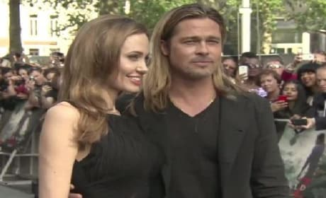 World War Z World Premiere: Brad Pitt, Angelina Jolie & Muse Rock London