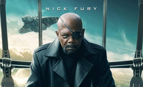 Captain America The Winter Soldier Nick Fury Poster