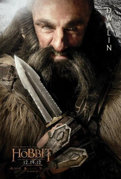 The Hobbit Dwalin Poster