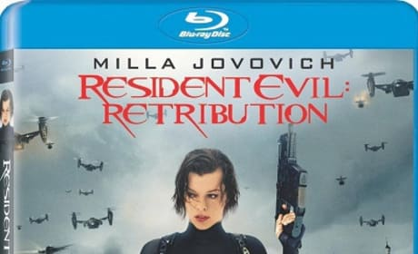 Resident Evil Retribution Blu-Ray