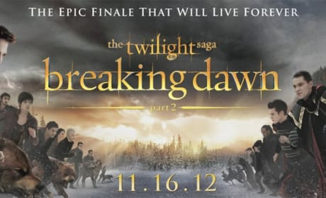Breaking Dawn Part 2 Banner Debuts: Epic Vampire Faceoff
