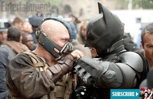 The Dark Knight Rises: Bane and Batman