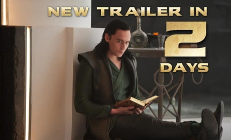 Thor The Dark World Photo: Getting a Read on Loki