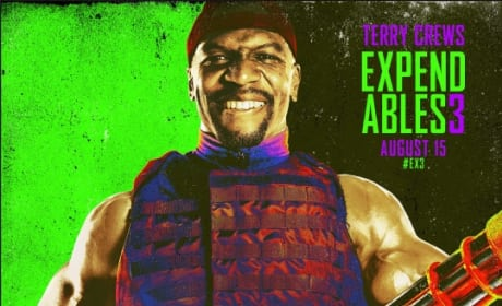 The Expendables 3 Terry Crews Comic Con Poster