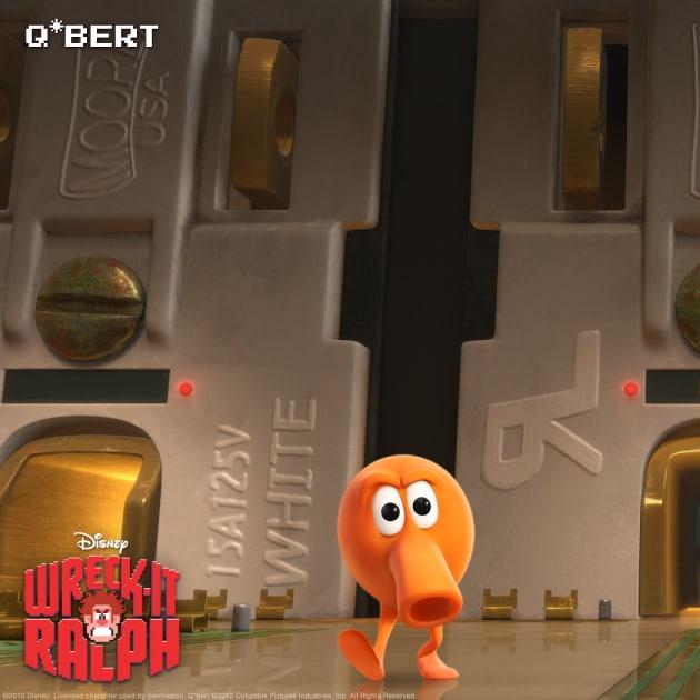 Q*Bert Wreck-It Ralph