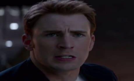 Captain America The Winter Soldier Clip: Cap Is In Pursuit