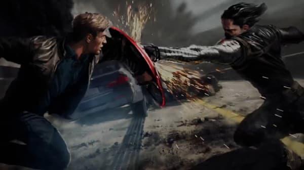 Captain America 2: The Winter Soldier Chris Pine Concept Art