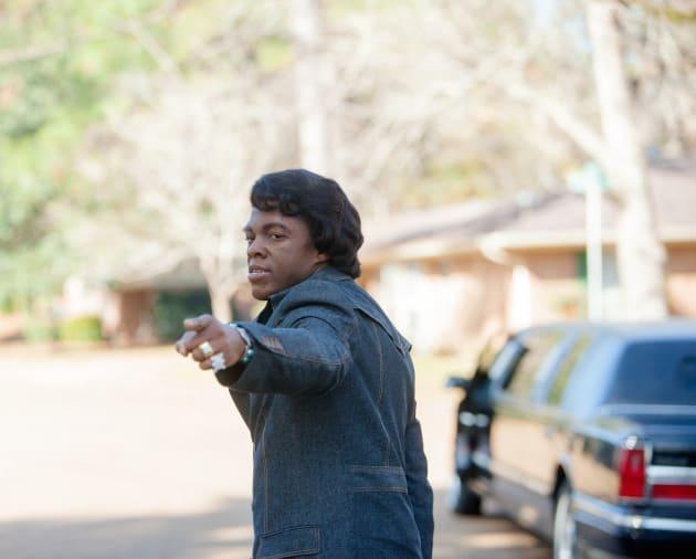 Chadwick Boseman as Older James Brown