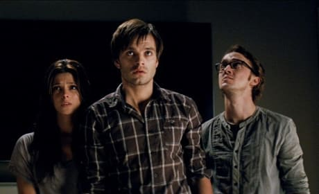 Ashley Greene, Sebastian Stan Tom Felton in The Apparition