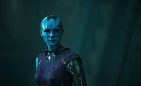 Guardians of the Galaxy Karen Gillian is Nebula
