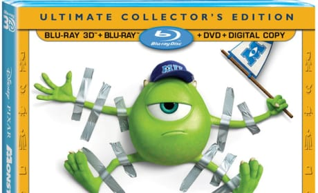 Monsters University DVD/Blu-Ray