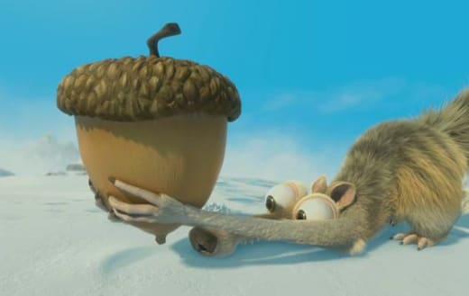 Scrat in Ice Age: Continental Drift