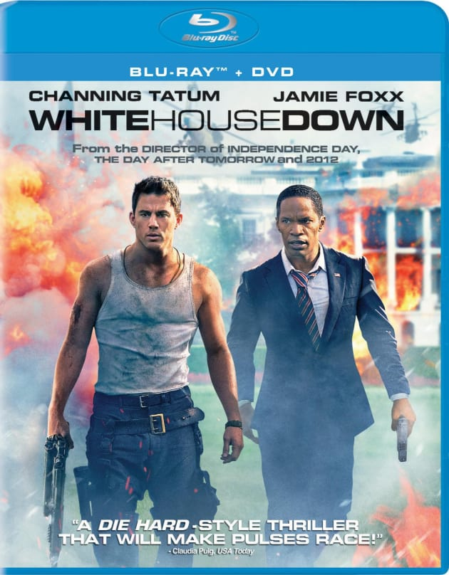 White House Down DVD