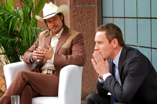 The Counselor Brad Pitt Michael Fassbender