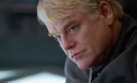 Mockingjay Part 1 Photos: Philip Seymour Hoffman Plays the Game