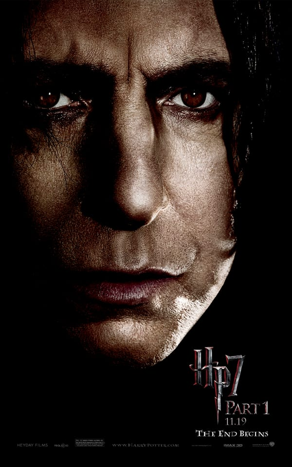 HP7 Snape Poster